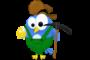 Miner Twitter bird