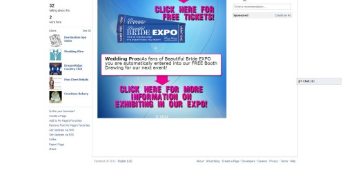 Beautiful Bride Expo Facebook Fangate