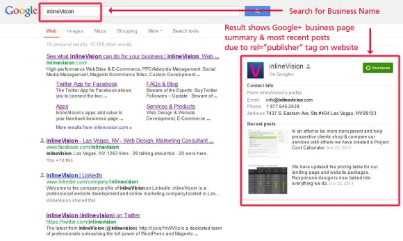 Iinlinevision Publisher Search Result