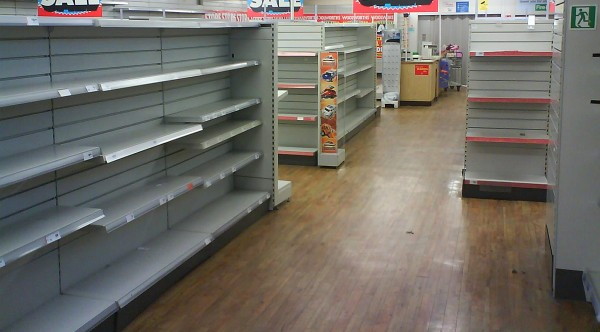 Content Crisis - Empty Shelves