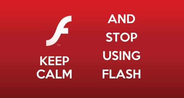 Website Annoyances - Keep Calm & Stop Using Flash