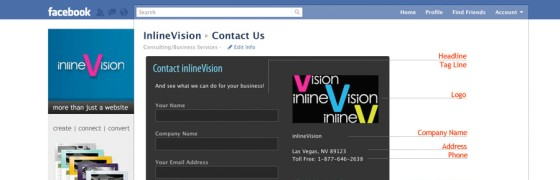 Contact Form for Facebook