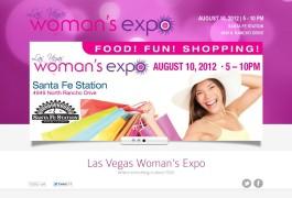 Landing Page Las Vegas Woman's Expo