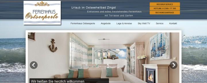 Luxus Ferienhaus / Luxury Vacation Villa Ostseeperle Zingst  – Germany