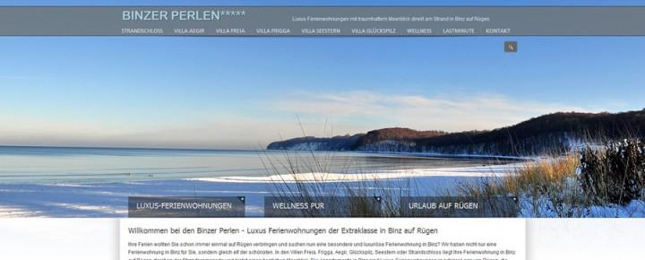 Binzer Perlen – Luxury Vacation Rentals with Ocean View – Binz, Germany