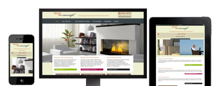 FeWo Concept – Marketing – Selection – Interior Design