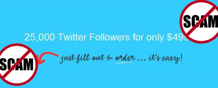 Beware of the Experts: Buy Twitter Followers – Update