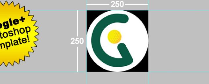 New Circular Google+ Profile Image Template
