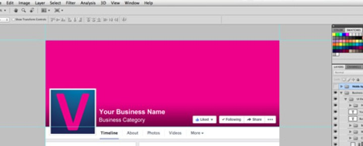 Facebook Business Page Cover Photo Template