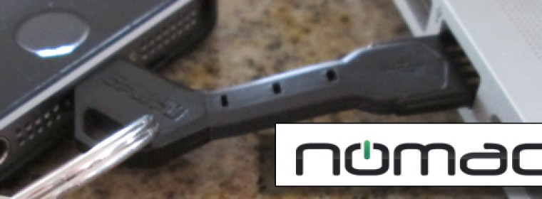 The Nomad Lightning to USB Cable for Your iPhone