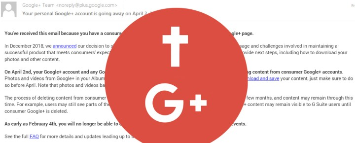 So Long, Google Plus: Good Bye to the Social Network That Never Was
