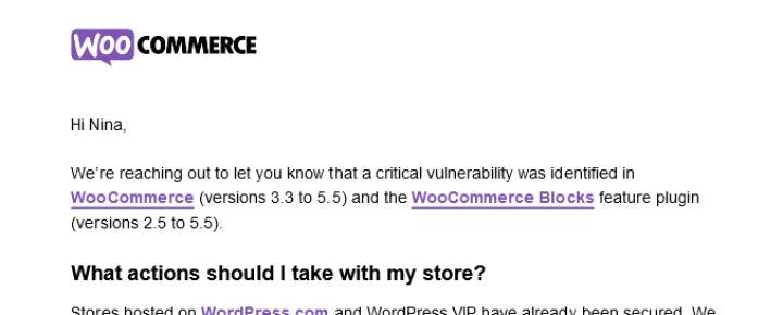 Woocommerce Security Woos