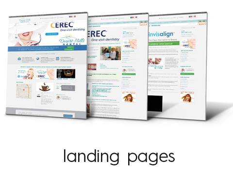 inlineVision Landing Pages & Microsites