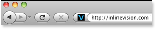 Favicon Exapmle - Address Bar