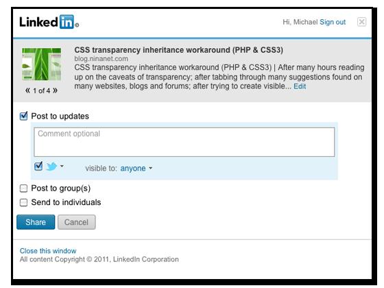 LinkedIn - inlineVision: Web Design / E-Commerce / PPC
