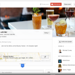 View of a Google+ Event