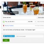 Creating a Google+ Event