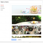 Theme options: Featured Themes are animated