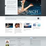 Custom WordPress Web Design for QuenchLA