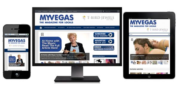 MYVEGAS Magazine - Responsive Design