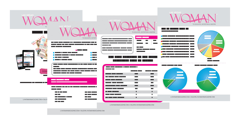 Las Vegas Woman Magazine Media Kit Clients Creative