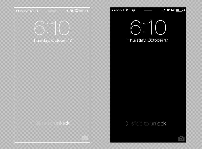 Iphone Background Template Preview