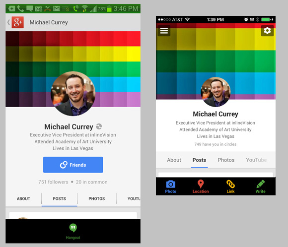 Google plus cover photo profile photo template blog social difference between android and ios google plus apps maxwellsz
