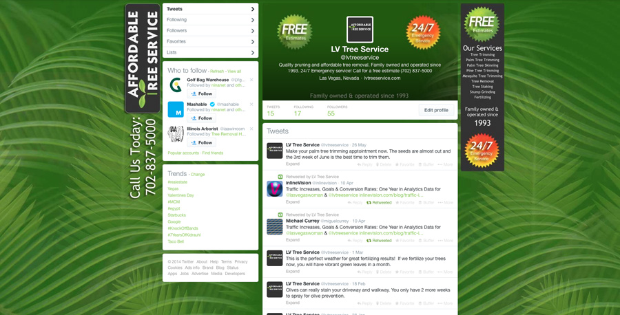 twitter background template for photoshop