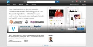 LinkedIn Showcase Page example banner - After