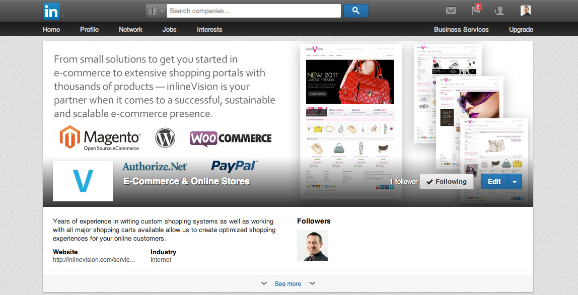 Good Web Page Design Mockup Examples