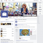 The new streamlined look for Facebook business pages