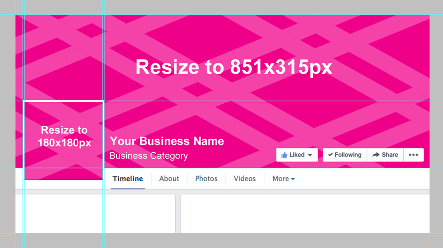 Facebook Business Page Cover Photo Template Blog Social
