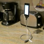 iPhone stand in the kitchen - Portrait