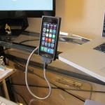 Une Bobine USB Cable Dock Portrait Position