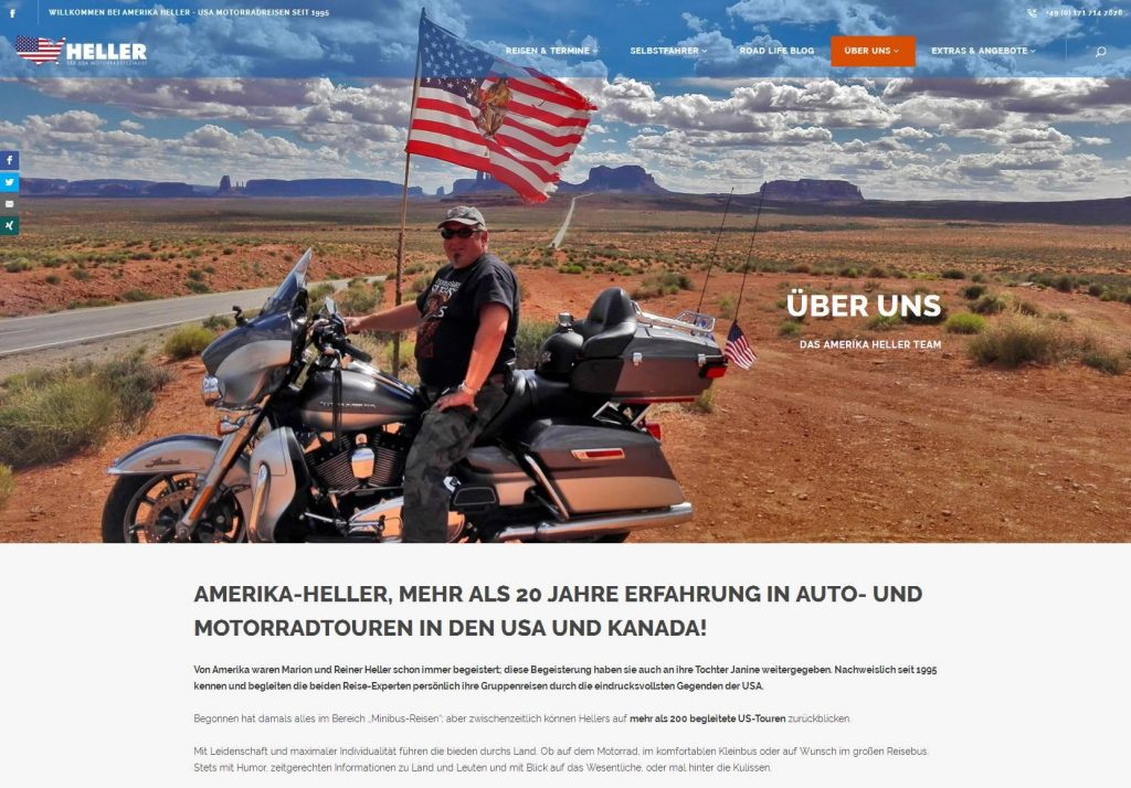 Amerika Heller - Ueber Uns