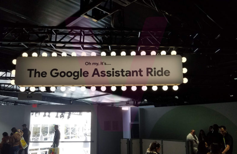 CES 2019 – Google Assistant Ride