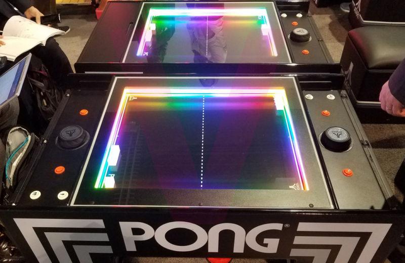 CES 2019 – Pong 😍