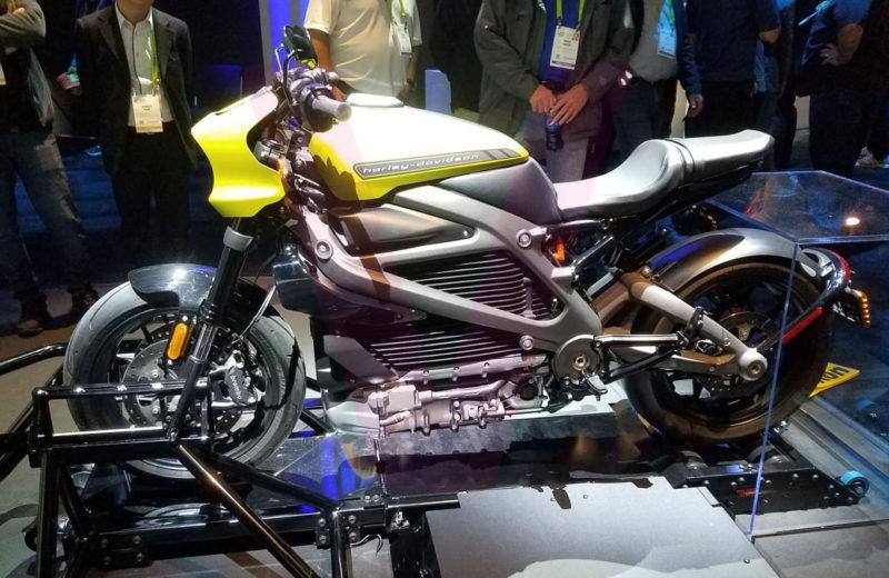 CES 2019 – Electric Motorcylce by Harley Davidson