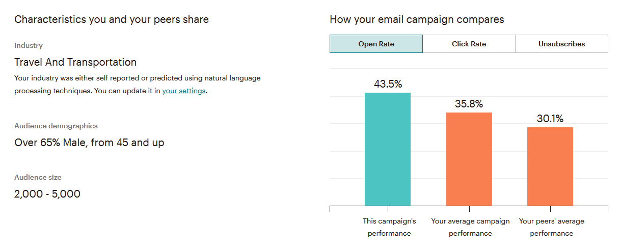 Email Marketing Campaigns Stats